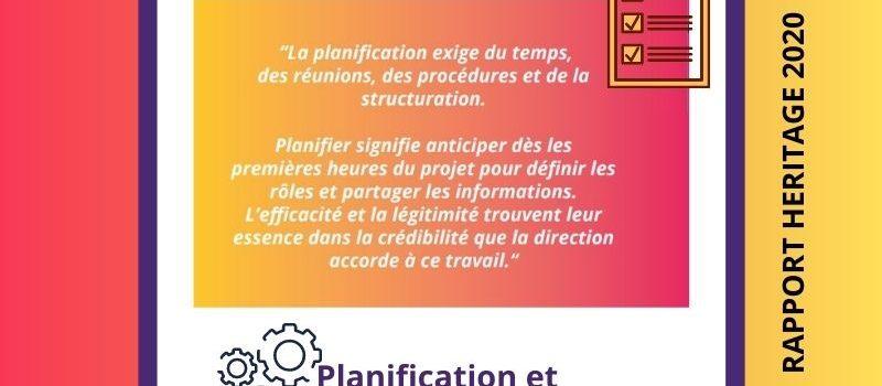 Héritage - plannification